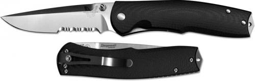 Benchmade Knives: Benchmade Torrent Knife, Part Serrated, BM-890S