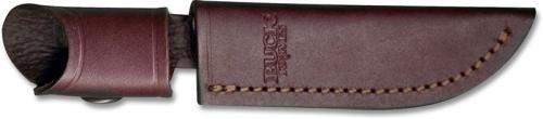 Buck Woodsman Knife Sheath, Brown Leather, BU-102BRS