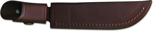 Buck Pathfinder Knife Sheath Only, Burgundy Leather, BU-105BRS