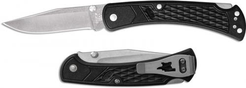 Buck 110 Slim Select EDC 0110BKS1 Clip Point Blade Black GFN Lock Back Folder Made in USA