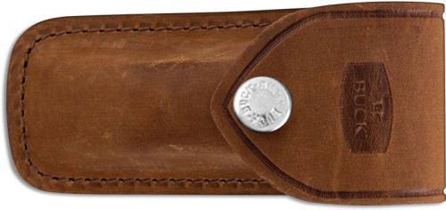 Buck 112 Ranger Distressed Brown Leather Sheath Only, BU-112DBS