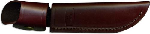 Buck Personal Knife Sheath Only, Burgundy Leather, BU-118BRS
