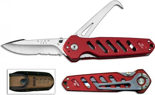 Buck Crosslock Hoofpick, Red, BU-183RDS