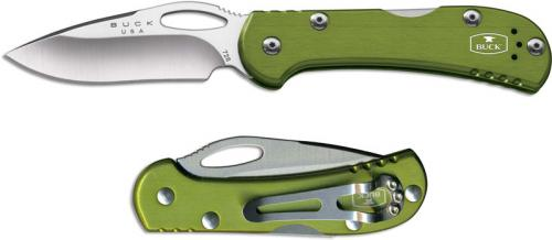 Buck Mini SpitFire, Green, BU-726GRS