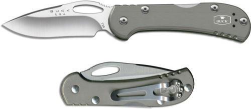 Buck Mini SpitFire, Gray, BU-726GYS