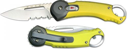Buck Knives: Buck Redpoint Knife, Yellow, BU-750YWX