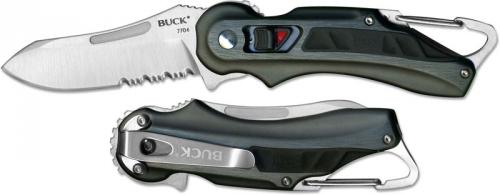Buck Knives: Buck FlashPoint Knife, Black, BU-770BKX