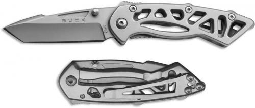 Buck Bones Knife, Small Gray, BU-869SSS
