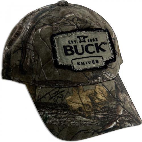 Buck 89068 RealTree Xtra Camo Cap with Adjustable Velcro Band