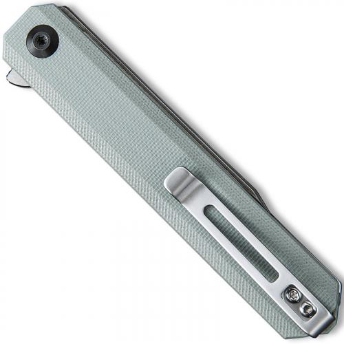 CIVIVI Chronic Knife C917A - Satin Clip Point - Gray G10 - Liner Lock Flipper Folder
