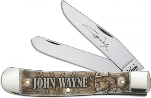 Case John Wayne Trapper, Smooth Natural Bone, CA-10699