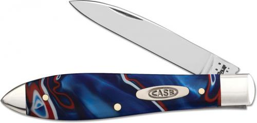 Case Tear Drop Gent Knife, Kirinite Patriot, CA-11203