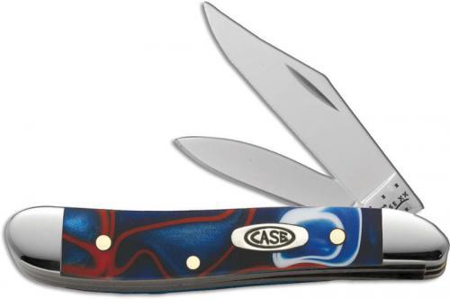 Case Peanut Knife, Kirinite Patriot, CA-11208