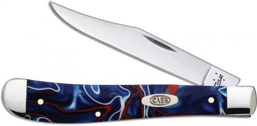 Case Slimline Trapper Knife, Patriot Kirinite, CA-11210
