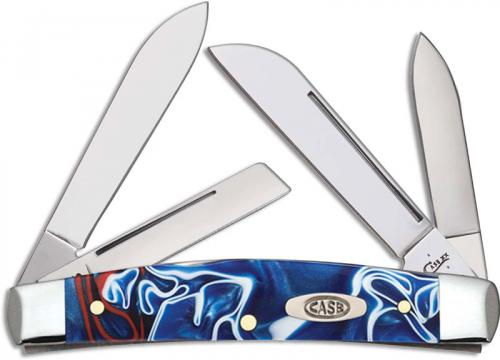 Case Medium Congress 11214 Knife Patriotic Kirinite 104052SS