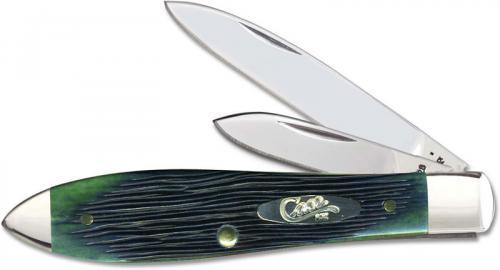 Case Tear Drop 25785 Knife Kentucky Bluegrass Bone TB62028SS