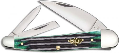 Case Seahorse Whittler 30950 Knife Hunter Green Bone 6355WHSS