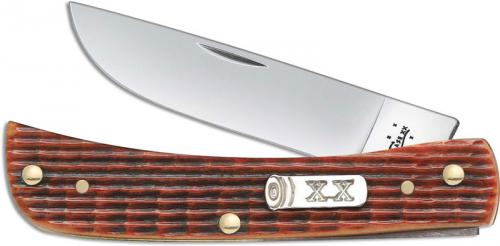 Case Sod Buster Jr Knife, Autumn Harvest Bone, CA-33500