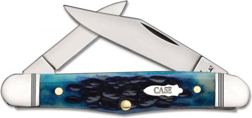 Case Half Whittler 46666 Standard Jig Ocean Blue Bone 6208SS