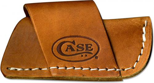Case Leather Belt Sheath, Side Draw, CA-50148