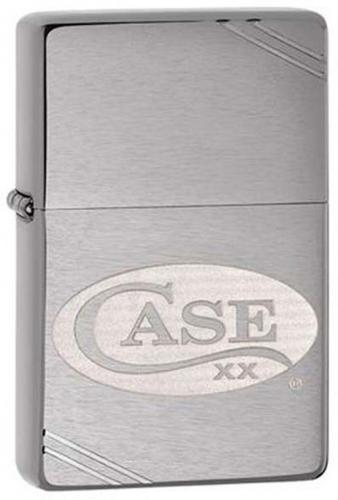 Case 52472 Zippo Lighter with Etched Case Logo