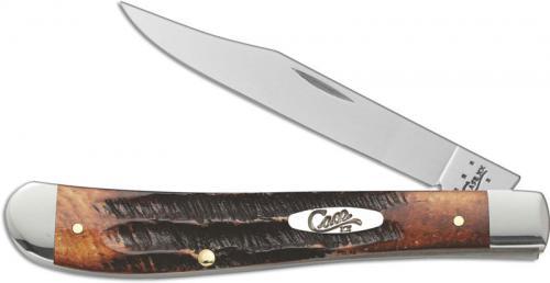 Case Slimline Trapper Knife, BoneStag, CA-65307