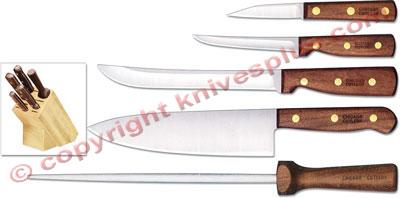 Chicago Cutlery Kitchen Knives Chicago Cutlery Walnut