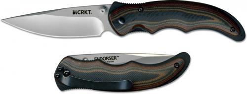 CRKT Endorser, Satin Blade, CR-1105