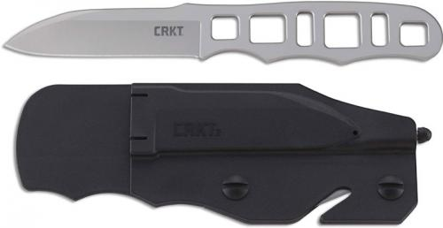 CRKT Hwy Rescue 2065 Knife Bob Terzuola Fixed Blade GRN Sheath with Glassbreaker