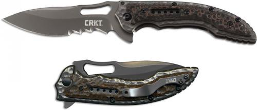 CRKT Fossil Knife, Small Black, CR-5461K