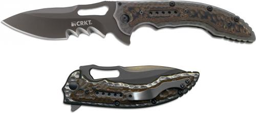CRKT Fossil Knife, Black, CR-5471K