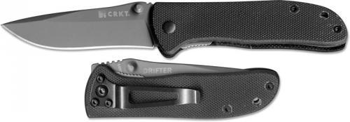 Columbia River Knife and Tool: CRKT Drifter Knife, G10, CR-6450K