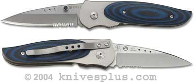 Columbia River Knife and Tool: CRKT Wasp Knife, Small Part Serrated, CR-8011