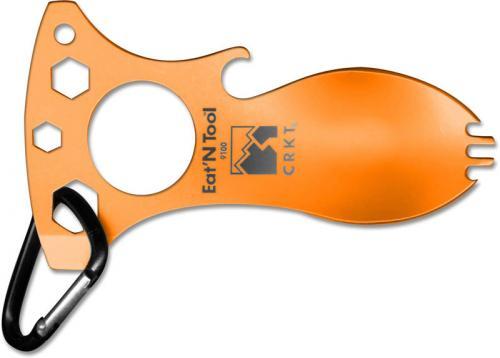 CRKT Eat'N Tool, Tangerine, CR-9100TC