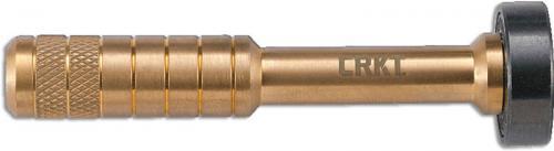 CRKT Hex Bit Driver Tool 9911-2 - Joe Wu Design - Compact Brass Driver with Ball Bearing Spinner
