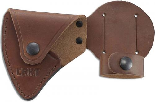 CRKT D2732 Woods Nobo T Hawk Sheath Heavy Duty Leather Made in the USA