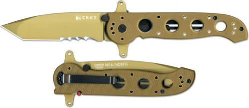 CRKT M16 Special Forces Desert G10, CR-M1614DSFG