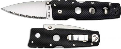 Cold Steel Hold Out III Knife, Serrated, CS-11HMS