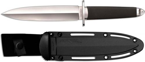 Cold Steel 35AA Tai Pan San Mai Layered Steel Double Edge Fixed Blade with Kray-Ex Handle