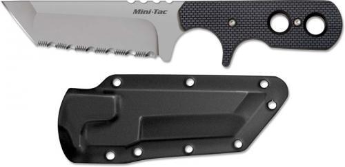 Cold Steel Mini Tac, Serrated Tanto, CS-49HTFS