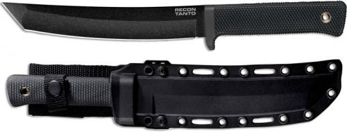 Cold Steel 49LRT Recon Tanto Black SK-5 Tanto Fixed Blade Tactical Knife
