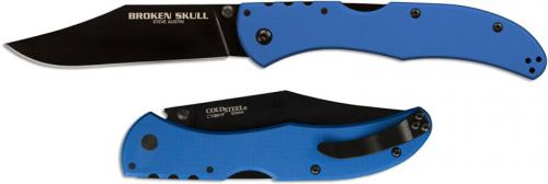 Cold Steel Broken Skull Knife, Blue, CS-54SBLU