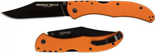 Cold Steel Broken Skull Knife, Orange, CS-54SBOR