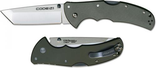 Cold Steel Code 4, Tanto, CS-58TPCT