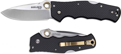 Cold Steel Golden Eye Elite 62QCFS Knife Andrew Demko EDC HTR Opener Locking Folder