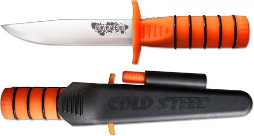 Cold Steel Survival Edge, Orange, CS-80PH