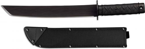 Cold Steel 97TKJZ Tactical Tanto Machete 13 Inch Carbon Steel Tanto Poly Handle