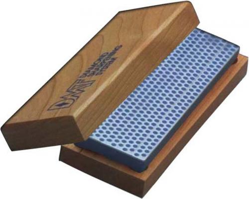DMT Benchstone, 6 Inch Coarse with Wood Case, DMT-W6C