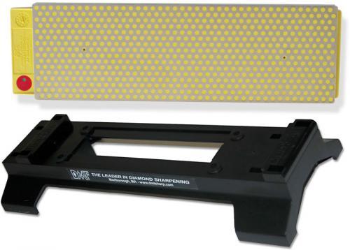 DMT DuoSharp W8EFWB 8 Inch Bench Stone with Base Extra Fine / Fine Grit