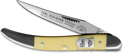 Eye Brand Knives: Eye Brand Mini Texas Toothpick, Yellow, EB-1659Y